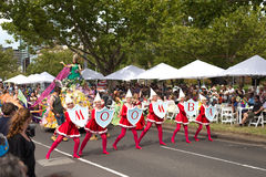 Moomba-Parade 2014 Lizenzfreies Stockfoto