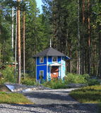 Finland: A Moomin house  Royalty Free Stock Photos
