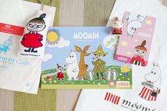 Moomin Skytrain Pass royalty free stock images