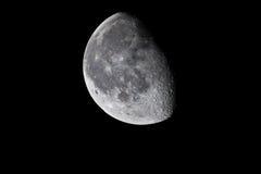 Moon. Beautiful moon on the Latvian sky Royalty Free Stock Photo
