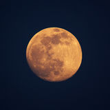 Moon. The moon is beautiful in sunset Royalty Free Stock Photos