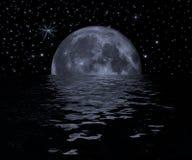 Moon. Illustration royalty free illustration