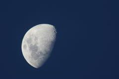 Moon. A Dark Blue sky with bright full moon royalty free stock photos