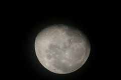 Moon. Shoot of moon in the night Stock Photography