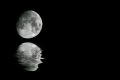 The moon Royalty Free Stock Image