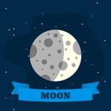 Moon1-01 Στοκ Εικόνα