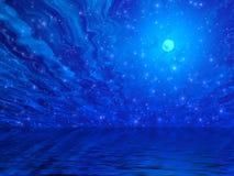 Free Moon And Stars Stock Photo - 976390