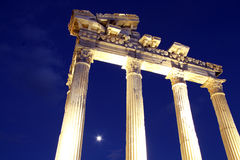 Apollo temple Royalty Free Stock Images
