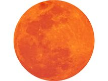 The Moon an astronomical body. PNG format. The Moon is an astronomical body that orbits planet Earth and only permanent natural satellite stock photo