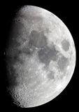 Moon Astrophotographie. Astrophotographie of Moon (8 Refractor with Zeiss Optic AS200 F = 3m royalty free stock image