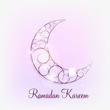 Moon Background for Muslim Community Festival Royalty Free Stock Images