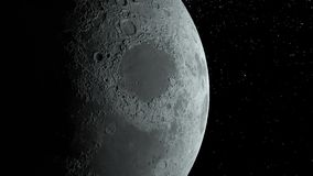 Moon Background Realistic moon The Moon is an astronomical body that orbits planet Earth. Elements of this image. Moon Background. Realistic moon. The Moon is an royalty free illustration