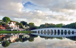 Moon Bridge at the Chinese Garden in Singapore Stock Image