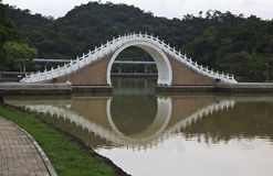 Moon Bridge of Taipei, Taiwan Royalty Free Stock Images