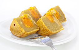 Moon cake Stock Photos