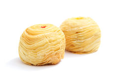 Moon cake in Chao Zhou style Royalty Free Stock Photos