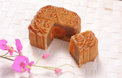Moon cake chinese food Royalty Free Stock Photography
