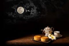 Moon Cake Royalty Free Stock Photo