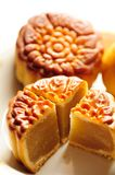 Moon cake. Stock Image