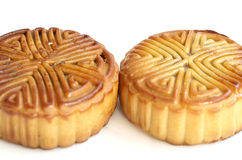 The moon cake Stock Image