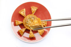The Moon Cake Royalty Free Stock Image