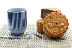 Moon cake meal Royalty Free Stock Images