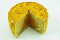 Moon cake. This photo are moon cake on a white background Stock Photography