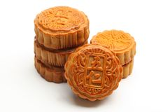 Moon cakes Stock Image