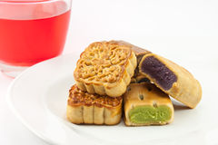 Moon cakes Royalty Free Stock Photos