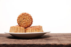 Moon cakes for Chinese Mid-Autumn fastival Stock Images