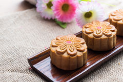 Moon cakes Royalty Free Stock Images