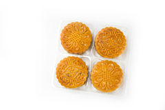 Moon cakes in a Chinese mid-autumn festival Stock Images