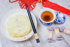 Moon cakes for the Chinese Mid-autumn festival Royalty Free Stock Image