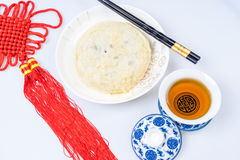 Moon cakes for the Chinese Mid-autumn festival Royalty Free Stock Photos