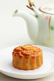 Moon cakes for Mid autumn festival Stock Photos