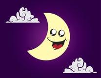 Moon Character Stock Image