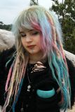 Moon Child, Modern Witch Bohemian Style. Royalty Free Stock Photo