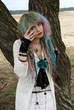 Moon Child, Modern Witch Bohemian Style. Royalty Free Stock Photography