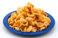 Moon Chips Food. Indian traditional healthy snack food Moon Chips stock photography