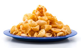 Moon Chips Food Stock Image