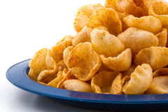 Moon Chips Food Royalty Free Stock Image