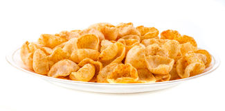 Moon Chips Food Royalty Free Stock Photo