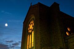 Moon church Royalty Free Stock Photography