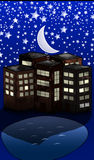 Moon City Stock Images