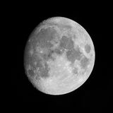 Moon on clear night Stock Photography