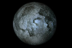 Moon Closeup Best Detail Dark Royalty Free Stock Images