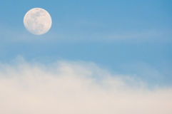 Moon and Cloud Stock Photos