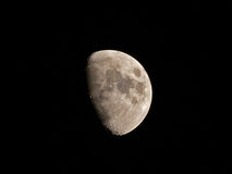 Moon with Copernicus crater Royalty Free Stock Images