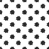 Moon with craters pattern vector. Moon with craters pattern seamless in simple style vector illustration Royalty Free Stock Photography