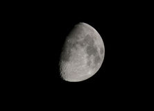 Moon crescent in October, europe Stock Photography